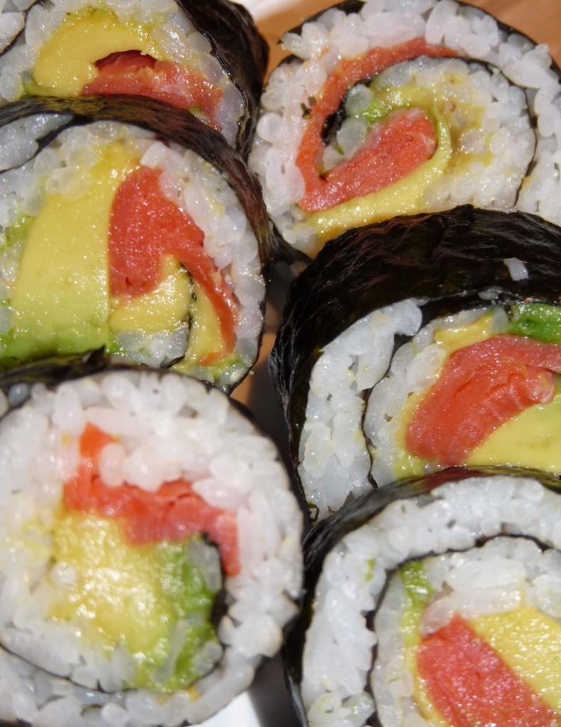 Lunch Box Sushi Roll