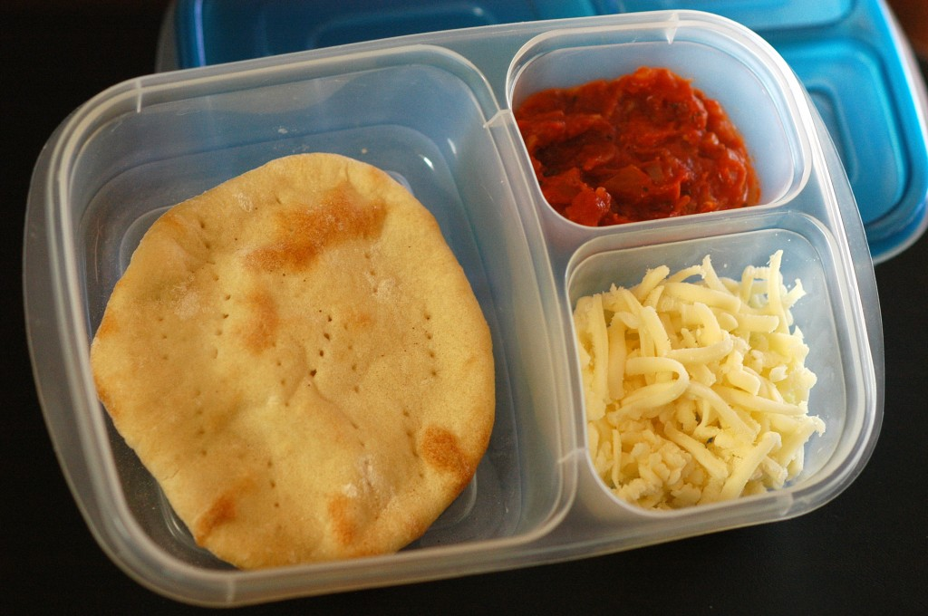 Homemade Pizza Lunchable