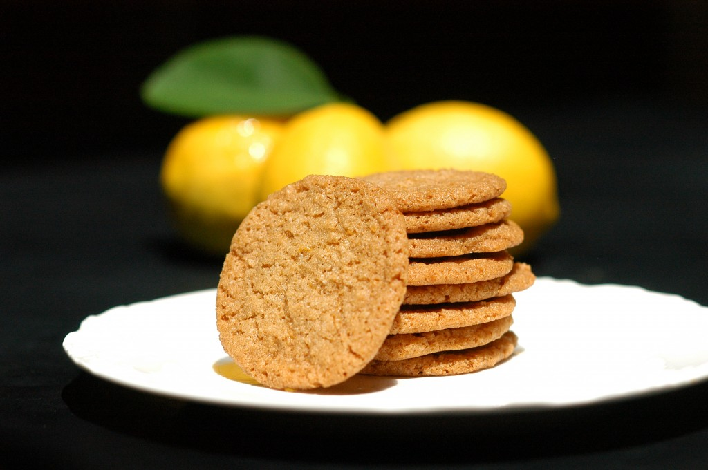 Vegan Meyer Lemon & Olive Oil Cookies