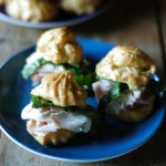 Thumbnail image for Mini Gougères Lunch Box Sandwiches