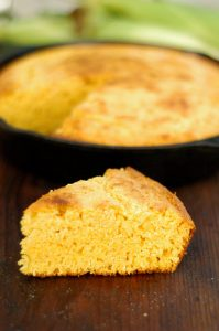 Homemade Cast Iron Skillet Buttermilk Cornbread