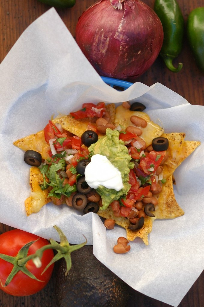 Main Dish Meatless Nachos