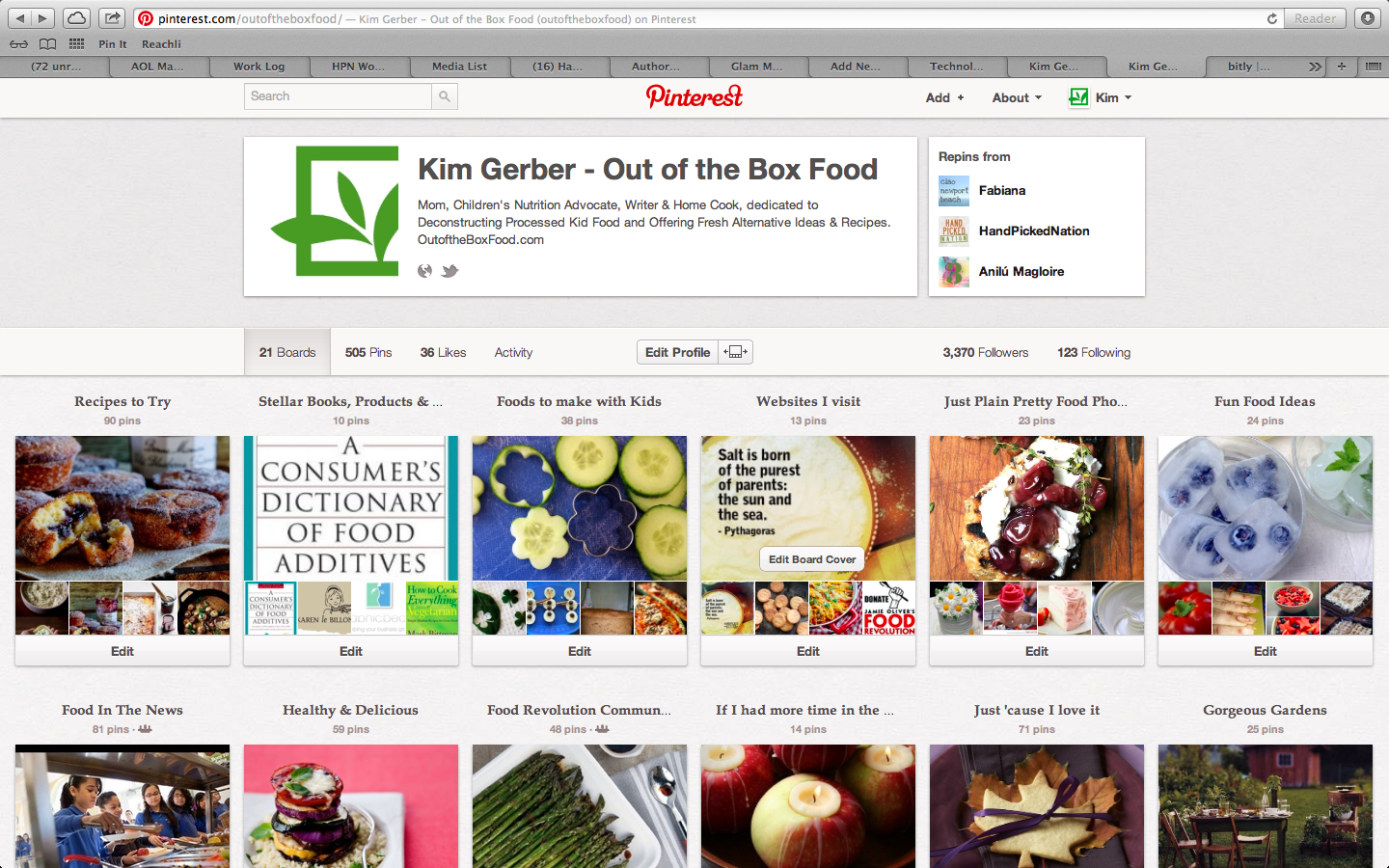 Out of the Box Food on Pinterest