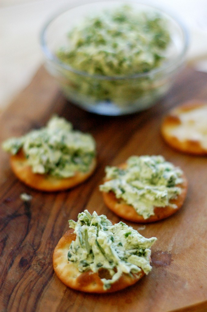 Spinach and Goat Cheese Spread